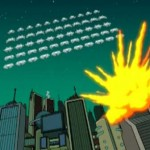 Space Invaders + Futurama
