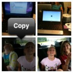 Copy a photo on the iPhone