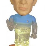 Transporting Spock Bobble Head