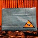 Zelda Triforce Duct Tape Wallet